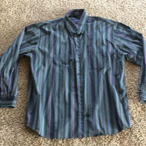 Men's stripped dress shirt!!